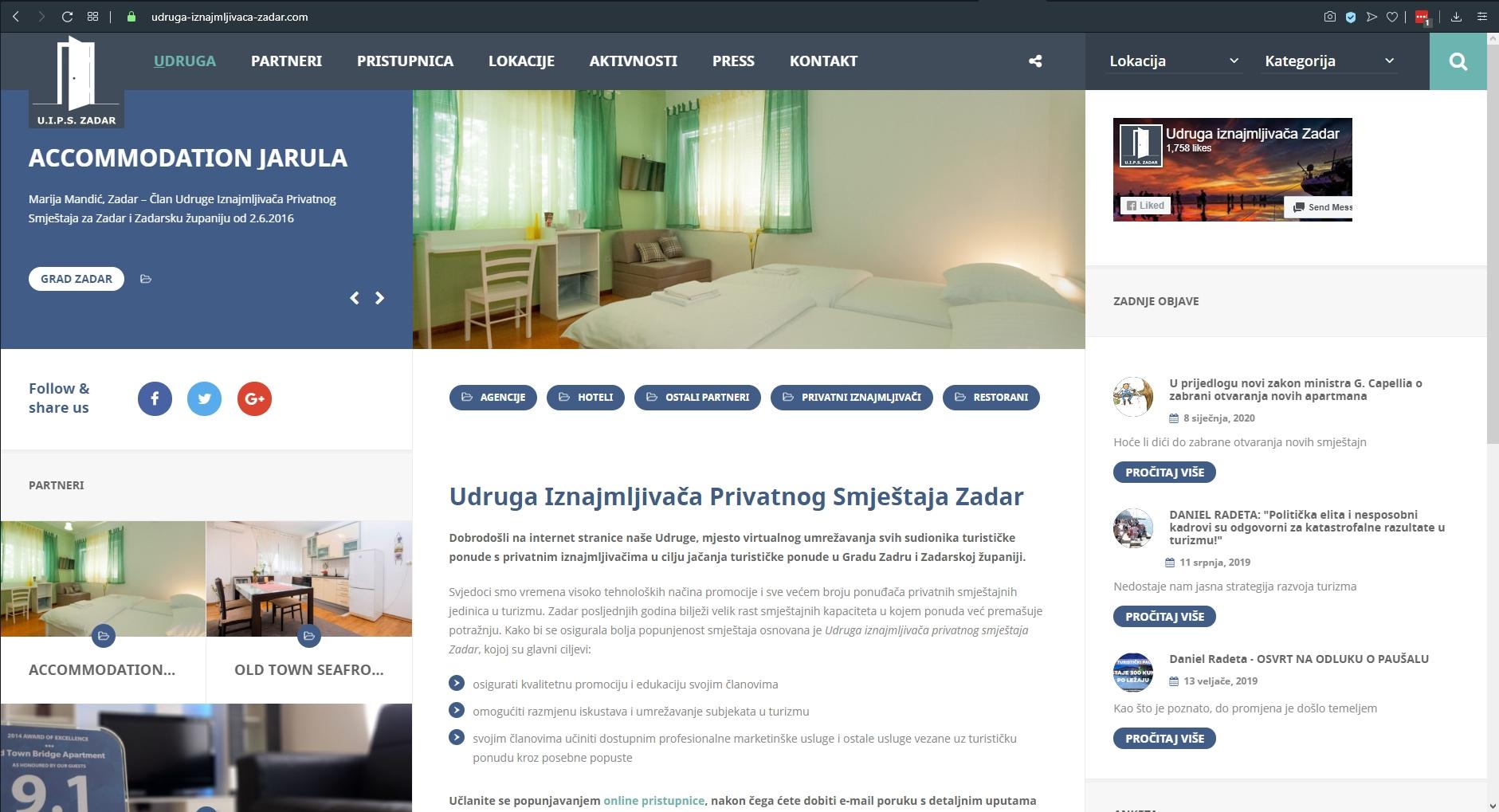Udruga Iznajmljivača Zadar